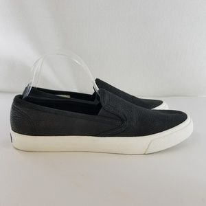 SPERRY Seaside Black Washable Leather Shoes10